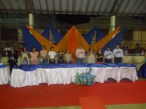 Formatura de alunos da Escola Maria Umbelino de Melo
