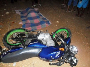Motociclista embriagado morre em acidente, próximo a Governador Dix-Sept Rosado-RN