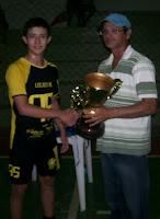 Equipe de Lagoa d'Anta se consagra campeão do Norteriograndense sub-17 de futsal