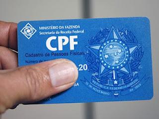 Regularização do CPF passa a ser gratuita e disponível na internet