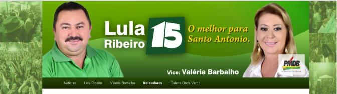 Santo Antônio, RN: Coligação 'Fé, Liberdade e Esperança' lança página na internet
