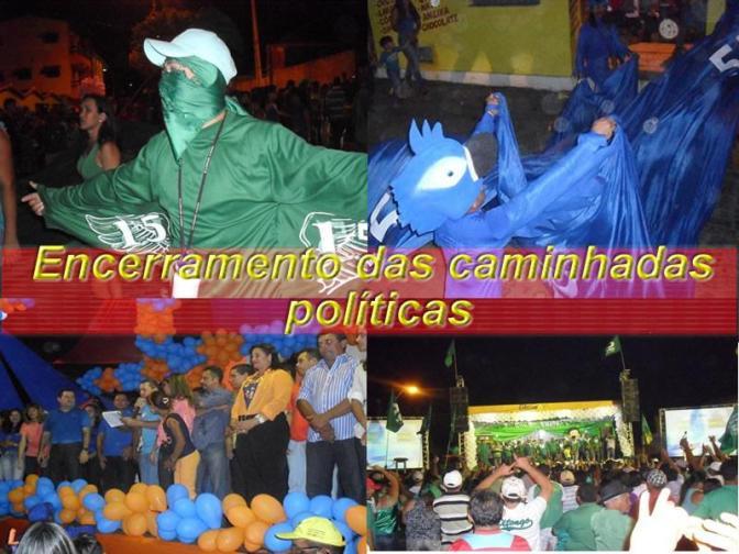 Santo Antônio, RN: Encerramento das caminhadas do pleito de 2012