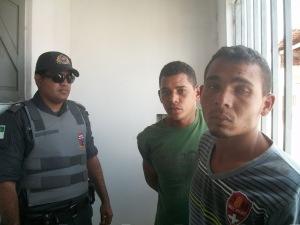 Elementos praticam assalto em Lagoa de Pedras e acabam presos em Santo Antônio/RN
