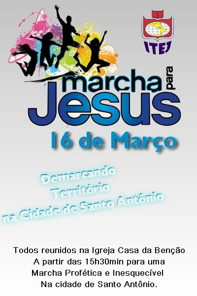 Foto divulgação: Marcha para Jesus