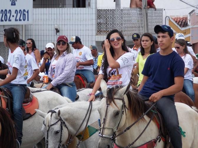 10ª Cavalgada da paz em Santo Antônio